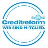 Creditreform Mitgliederlogo, Ihr Spezialist für Bonitätsprüfung, Inkasso, Zahlungsfauml;higkeit